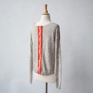 The Limited Zip Back Sweater